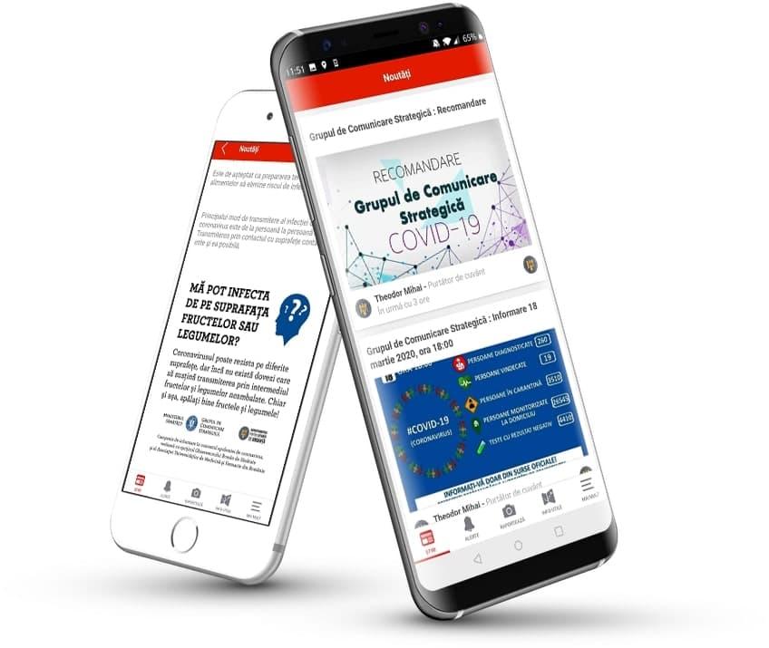 Aplicația mobile DSU