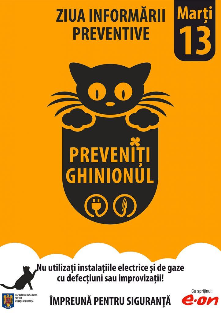 Marți 13 – Ziua Informării Preventive