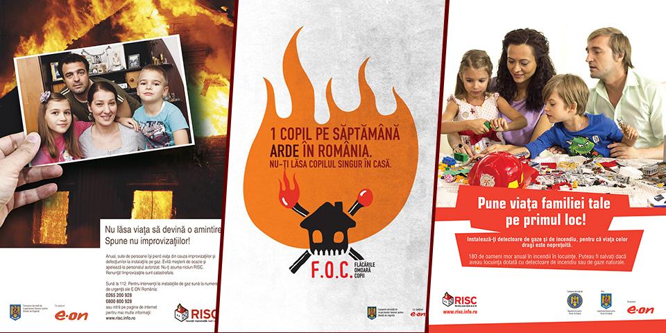 Campanii prevenire incendii